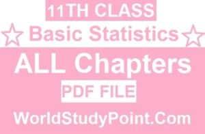 1st Year Class Basic Statistics