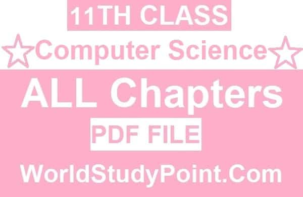 1st Year Computer Science