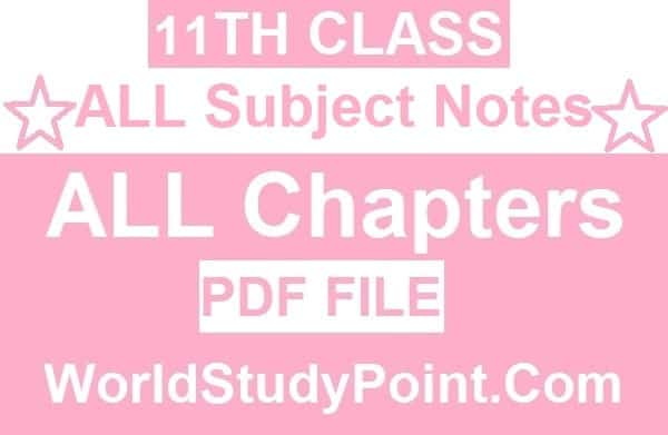 1st Year All Subjects
