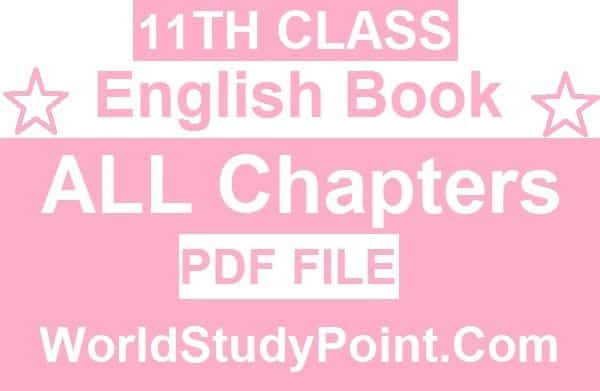 1st Year English Book