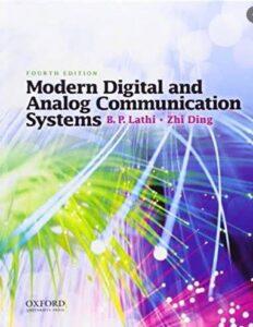 Modern Digital And Analog Communication System