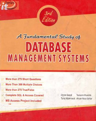 Database Management Systems by Tasleem Mustafa