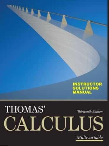 Calculus Thomas Finney Solves