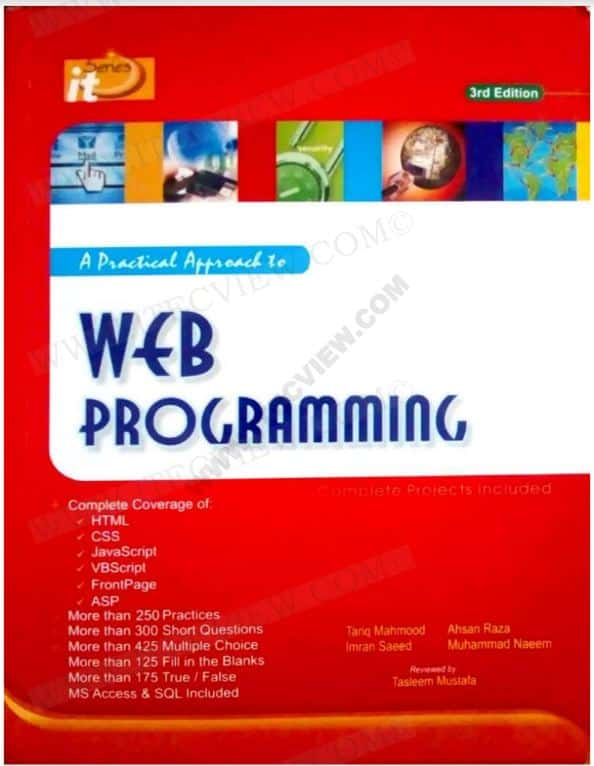 Web Programming by Tasleem Mustafa