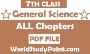 7th Class General Science notes