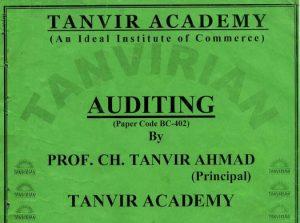 Advantages of Audit