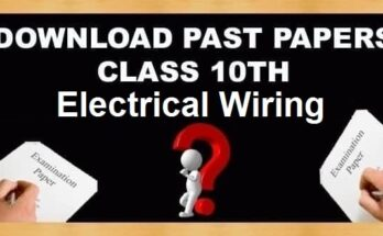 10th Class Electrical Wiring Subject Past Papers
