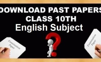 10th Class English Past Papers